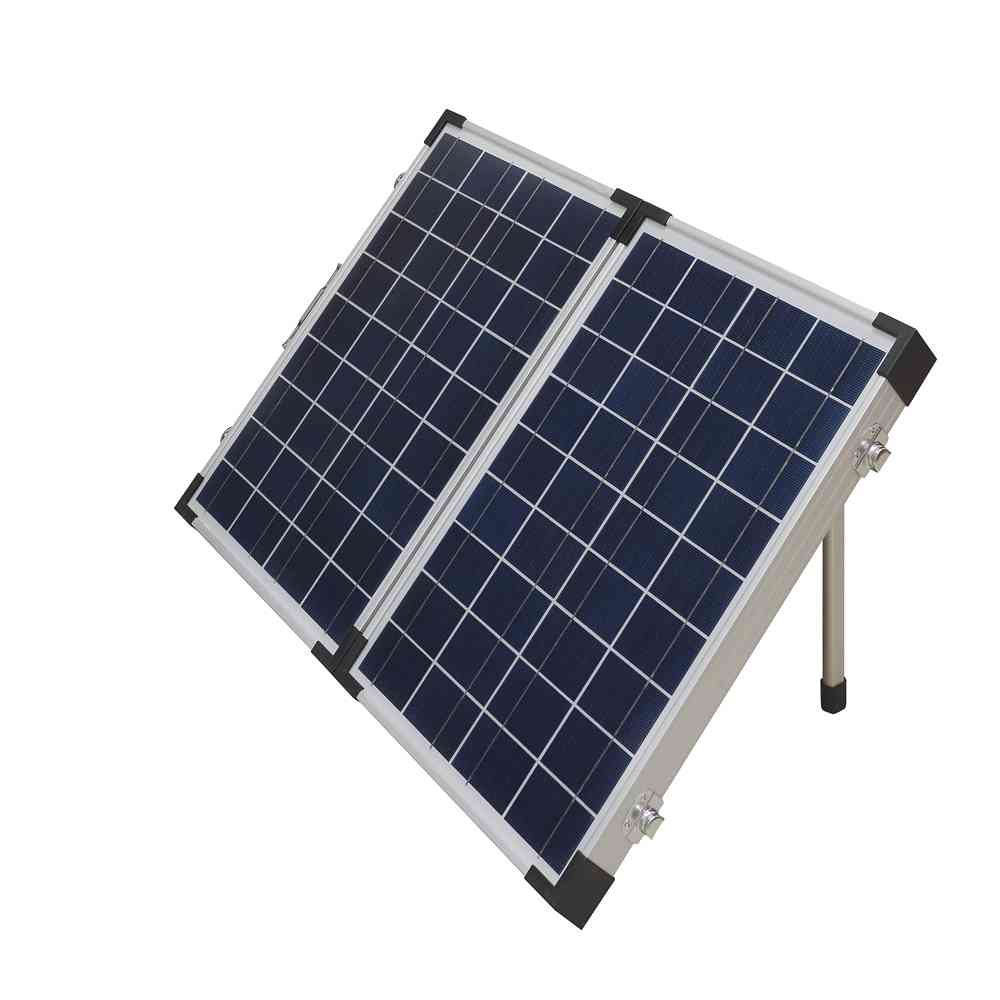 Hinergy Caravan Solar Panels 100 Watt 2x50W with Off Grid Solar Charge Controller 12V for RV Boat Caravan Thumb 2