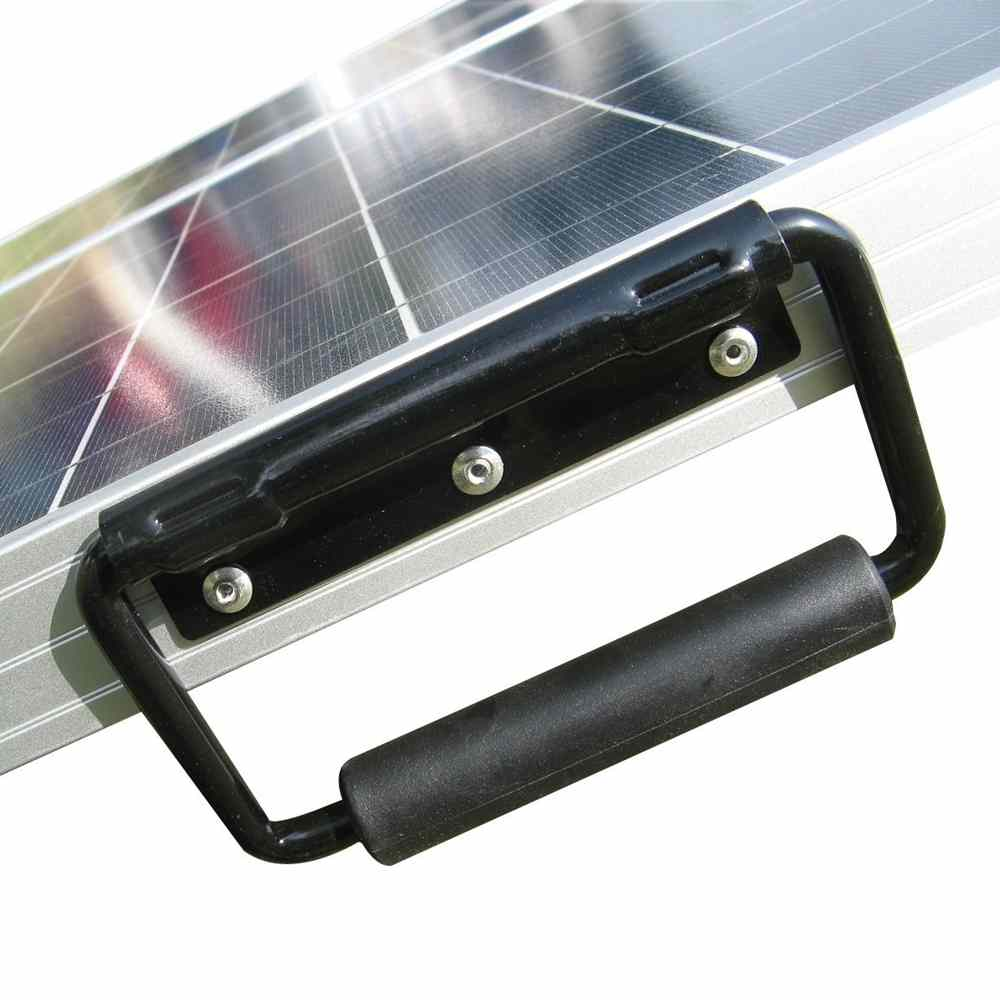 Hinergy 120w folding solar panel charger for 12V RV boat caravan charging from China manufacturer. Thumb 4