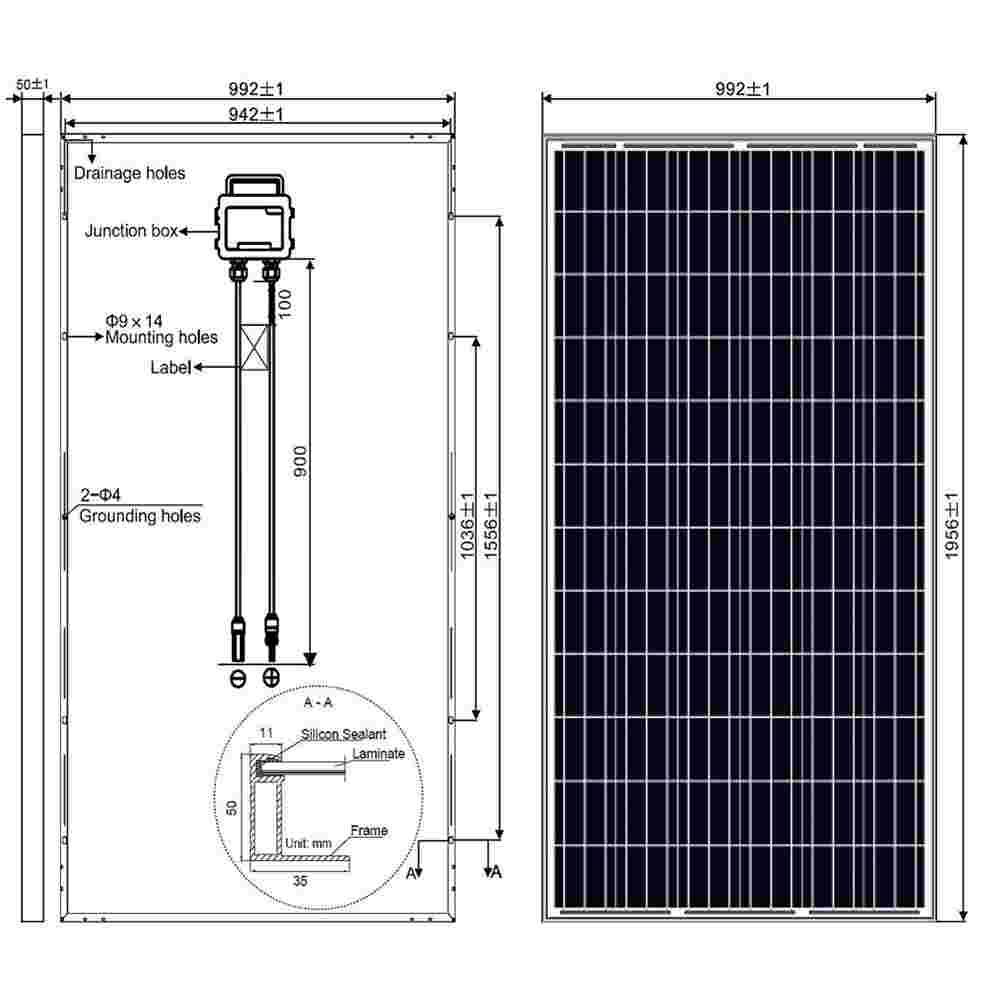 Solar Panel System 320 Wp -335 Watt China Supplier Thumb 5