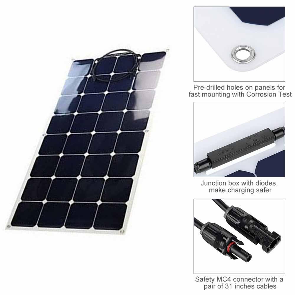 Hinergy Semi Flexible Solar Panel Made in China Thumb 2
