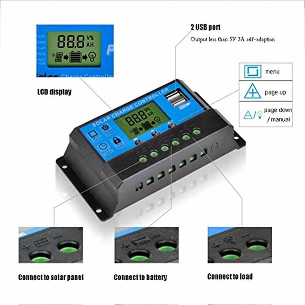 Manual PWM Price Solar Charge Controller China Supplier Thumb 2