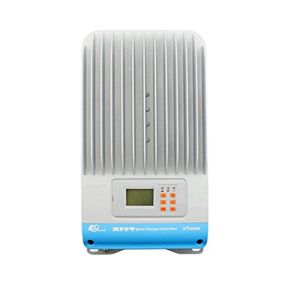 eTracer 60A MPPT Solar Charge Controller 150V input with MT-50 Solar Charge LCD Display Thumb 1