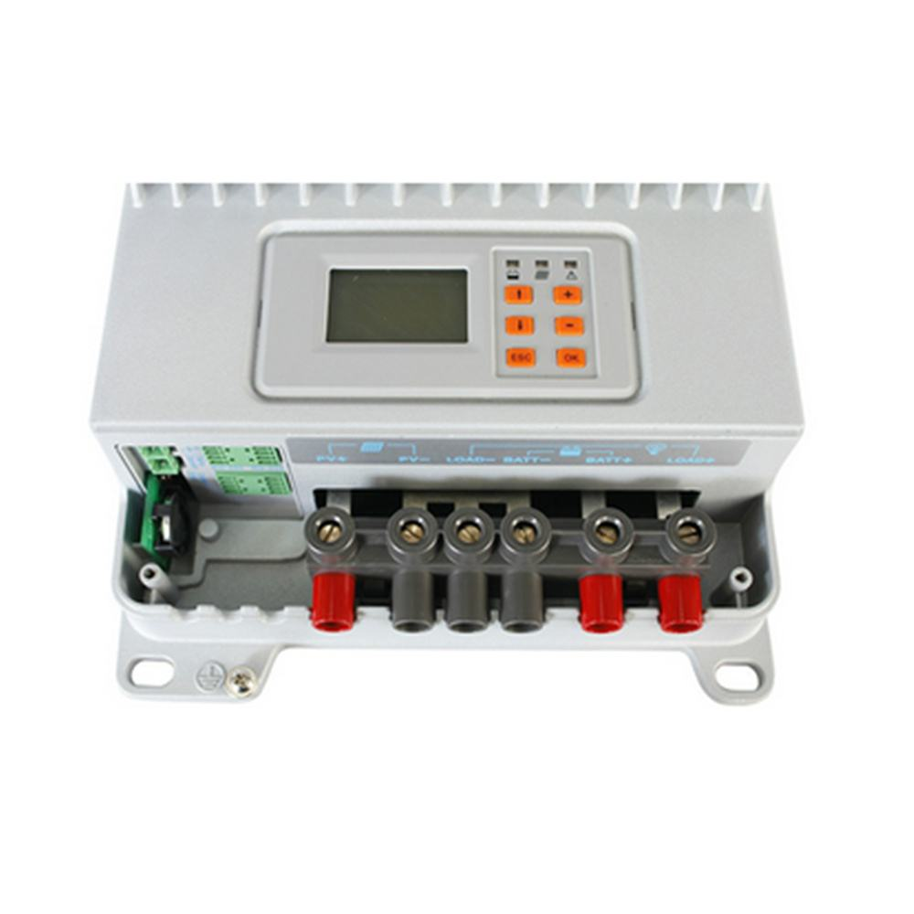eTracer 60A MPPT Solar Charge Controller 150V input with MT-50 Solar Charge LCD Display Thumb 5