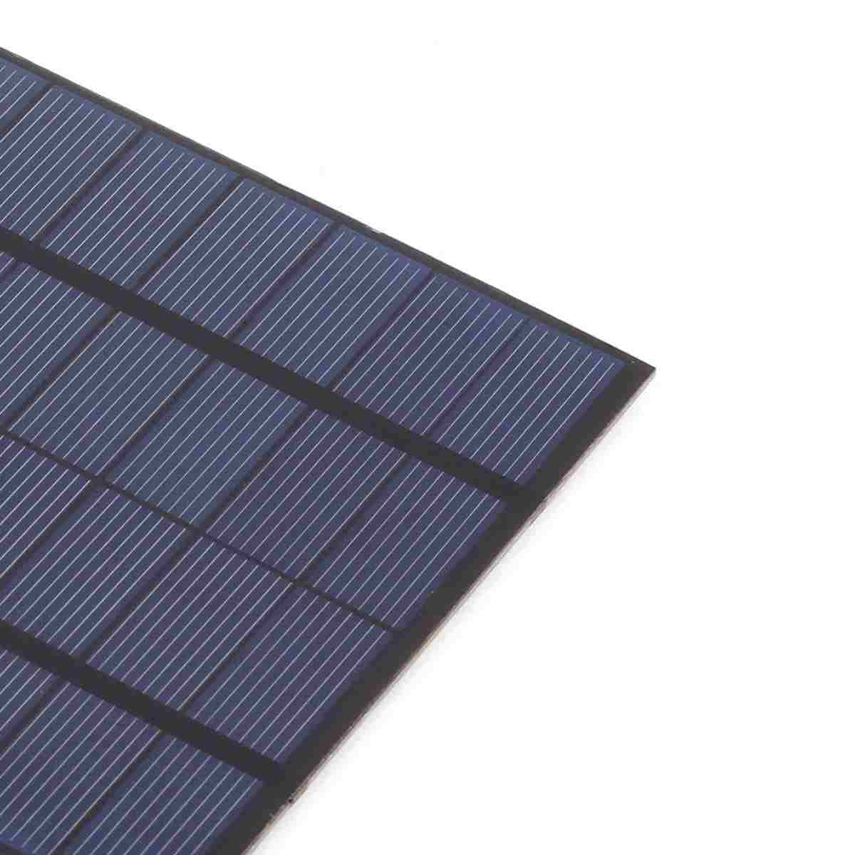 3W 12V Mini Solar Cell Portable DIY Solar Panel for Battery Powered LED Solar Test and Education Thumb 2