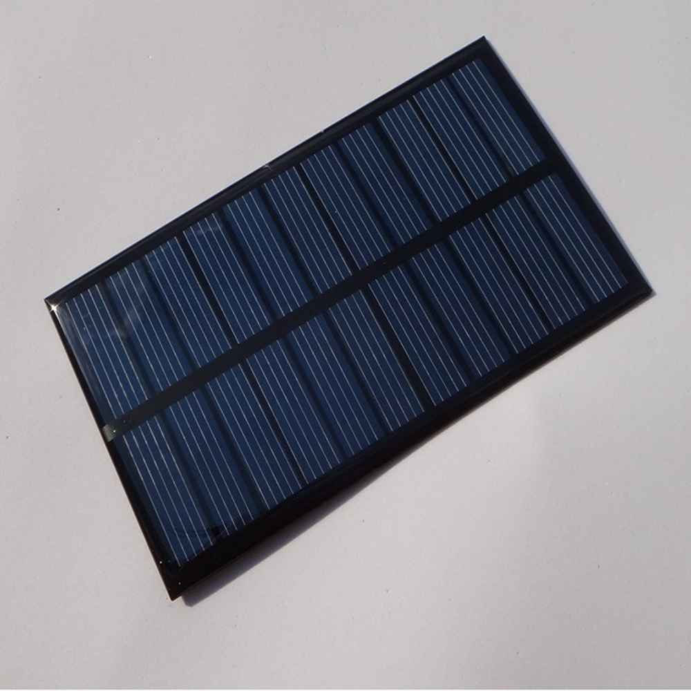 5.5v low price mini solar panel for led light phone toy flashlight power bank charger DIY Thumb 1