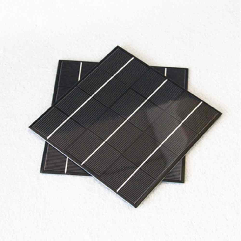 6v 300 mA low price mini solar panel for led light charger DIY Chinese Manufacturer Thumb 2
