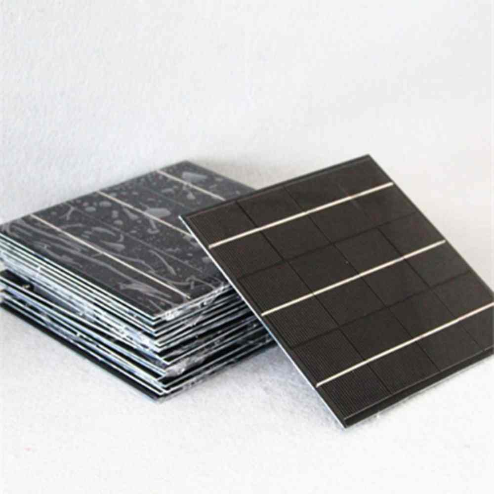 6v 300 mA low price mini solar panel for led light charger DIY Chinese Manufacturer Thumb 3