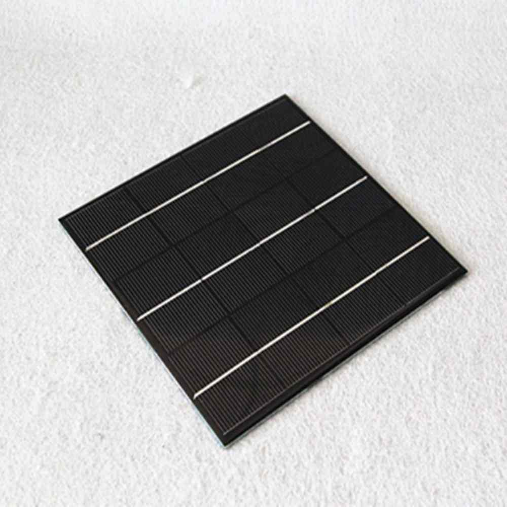 6v 300 mA low price mini solar panel for led light charger DIY Chinese Manufacturer Thumb 1