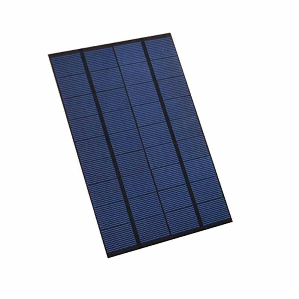 9v Pet Mini Solar Panel Diy Battery Charger Kit