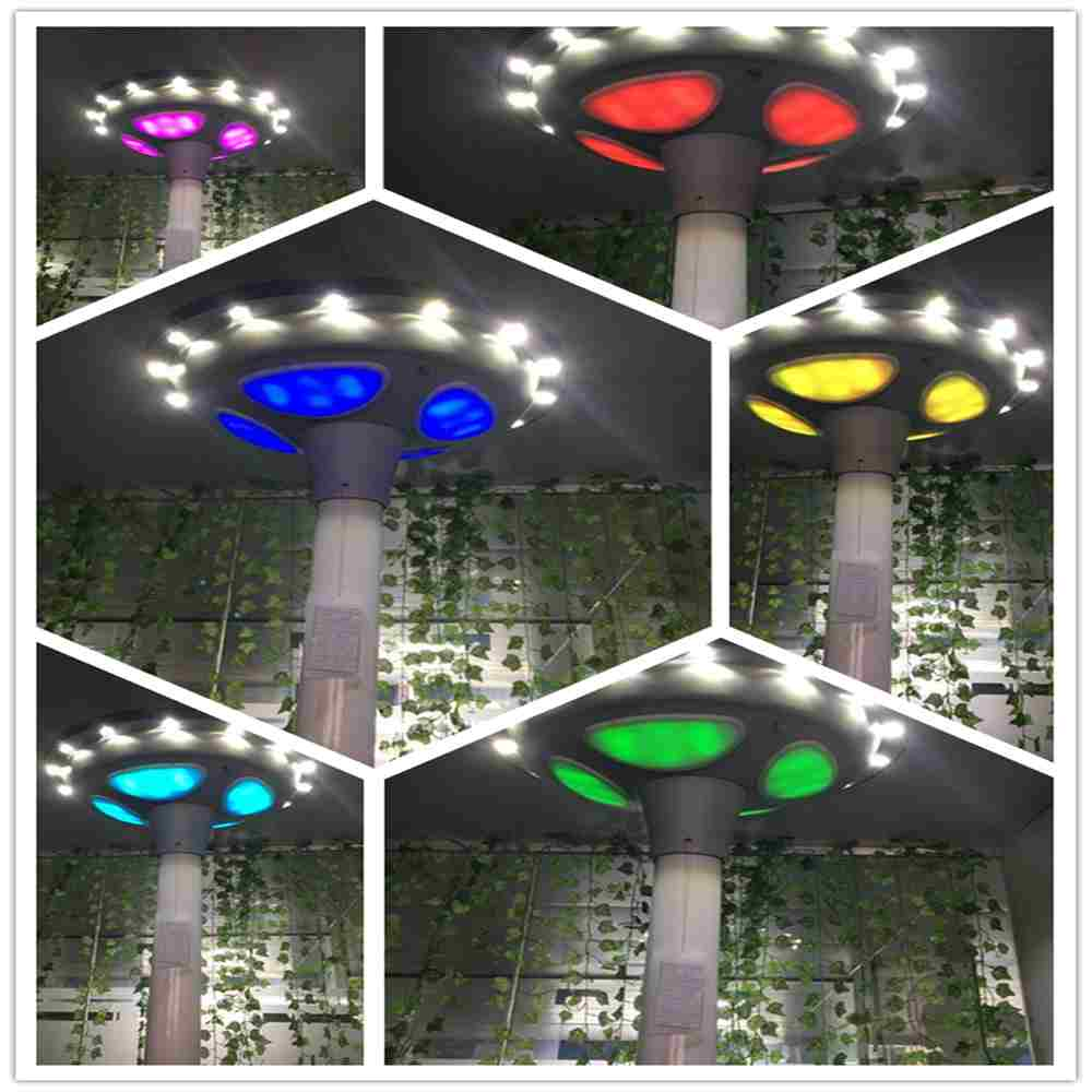 Hinergy UFO Motion Sensor Solar Lights Outdoor for Patio Deck Yard Garden China Manufacturer Thumb 4