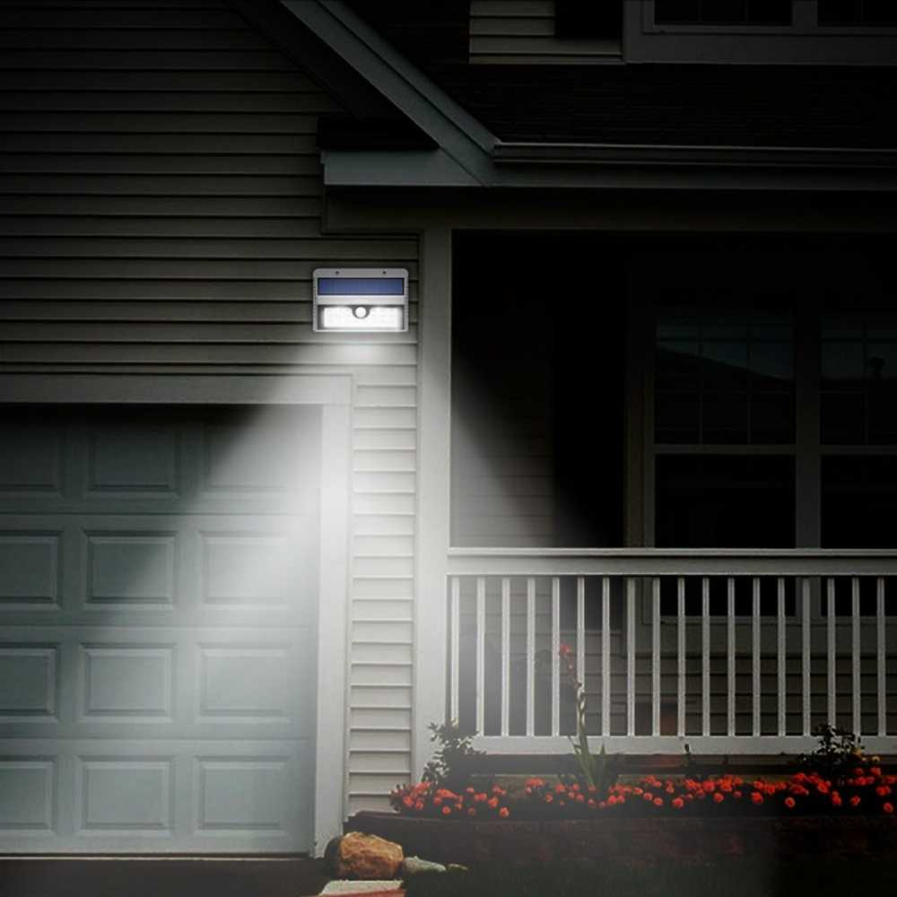 Solar Motion Sensor Lights Wall Lights Outdoor Solar Energy Powered Security Light Solar Light for Patio Deck Yard Garden Thumb 5