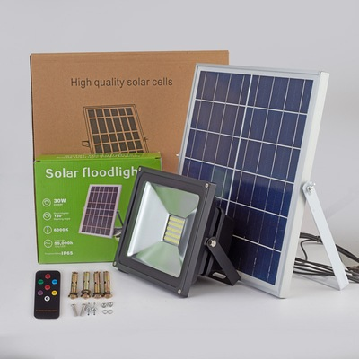 Super Bright Best Commercial Outdoor LED Solar Flood Light from China Manufacturer Thumb 3