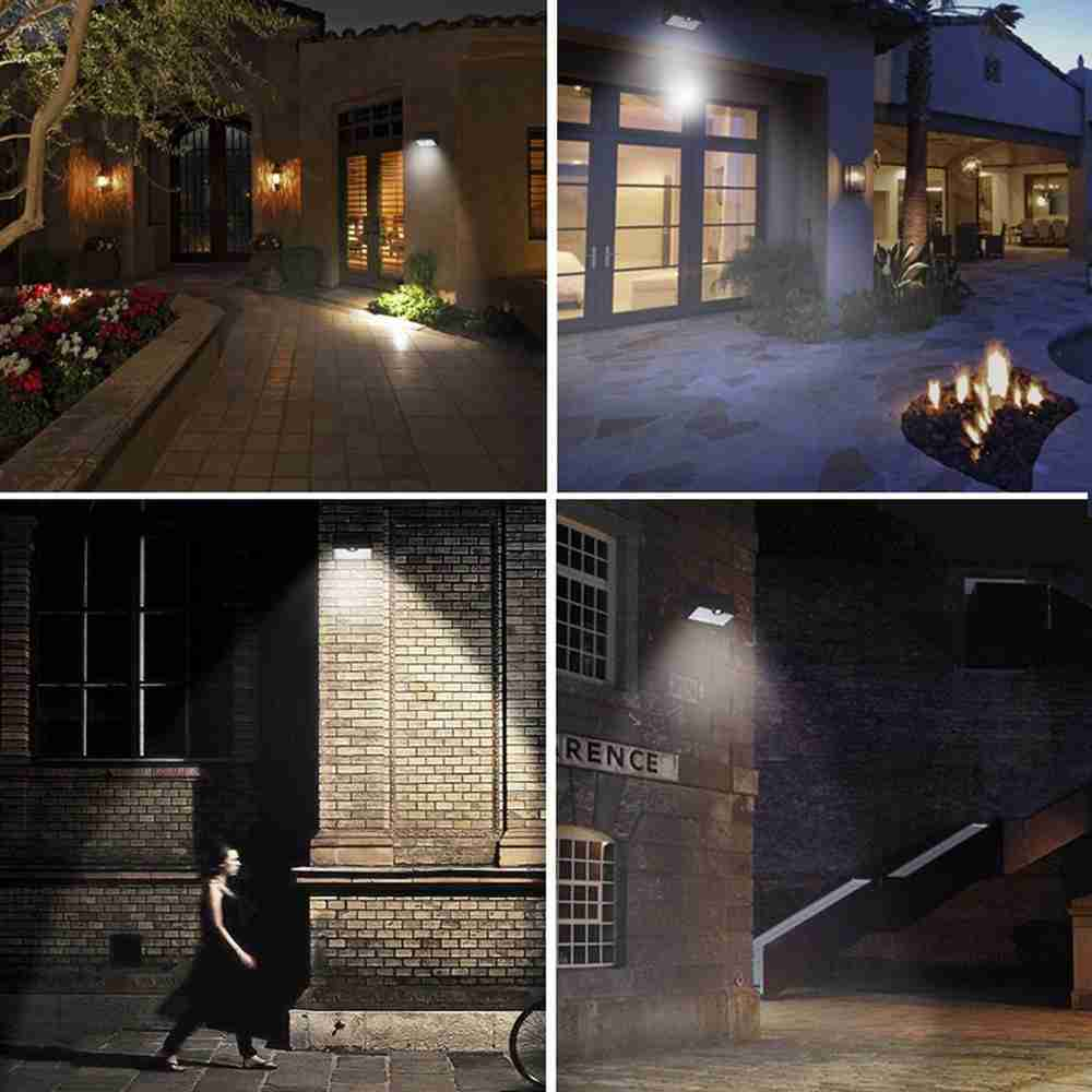 Buy LED Solar Wall Mount Outdoor Lights with Remote Control from China Thumb 4