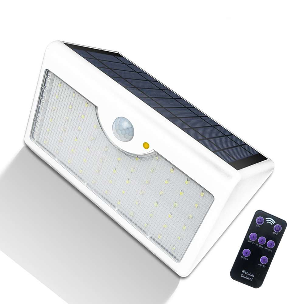 Buy LED Solar Wall Mount Outdoor Lights with Remote Control from China Thumb 2