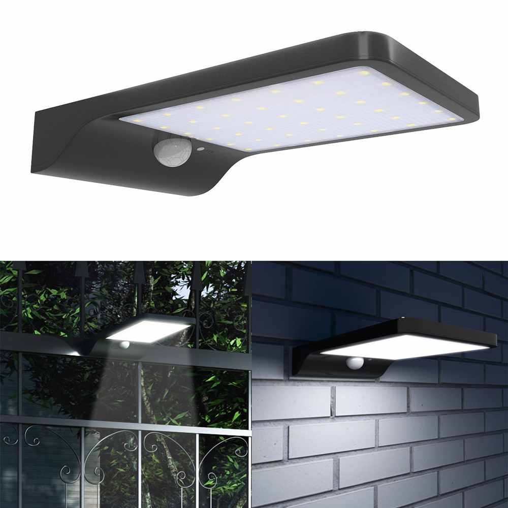 Solar Garden Light China: Outdoor 42LED Bright Motion Sensor Fence Security Solar