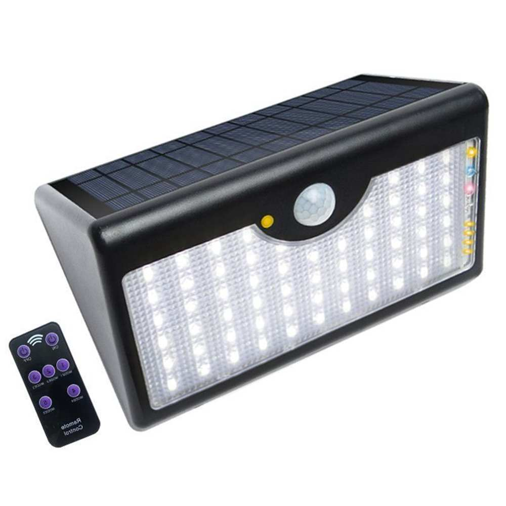 Buy LED Solar Wall Mount Outdoor Lights with Remote Control from China Thumb 1