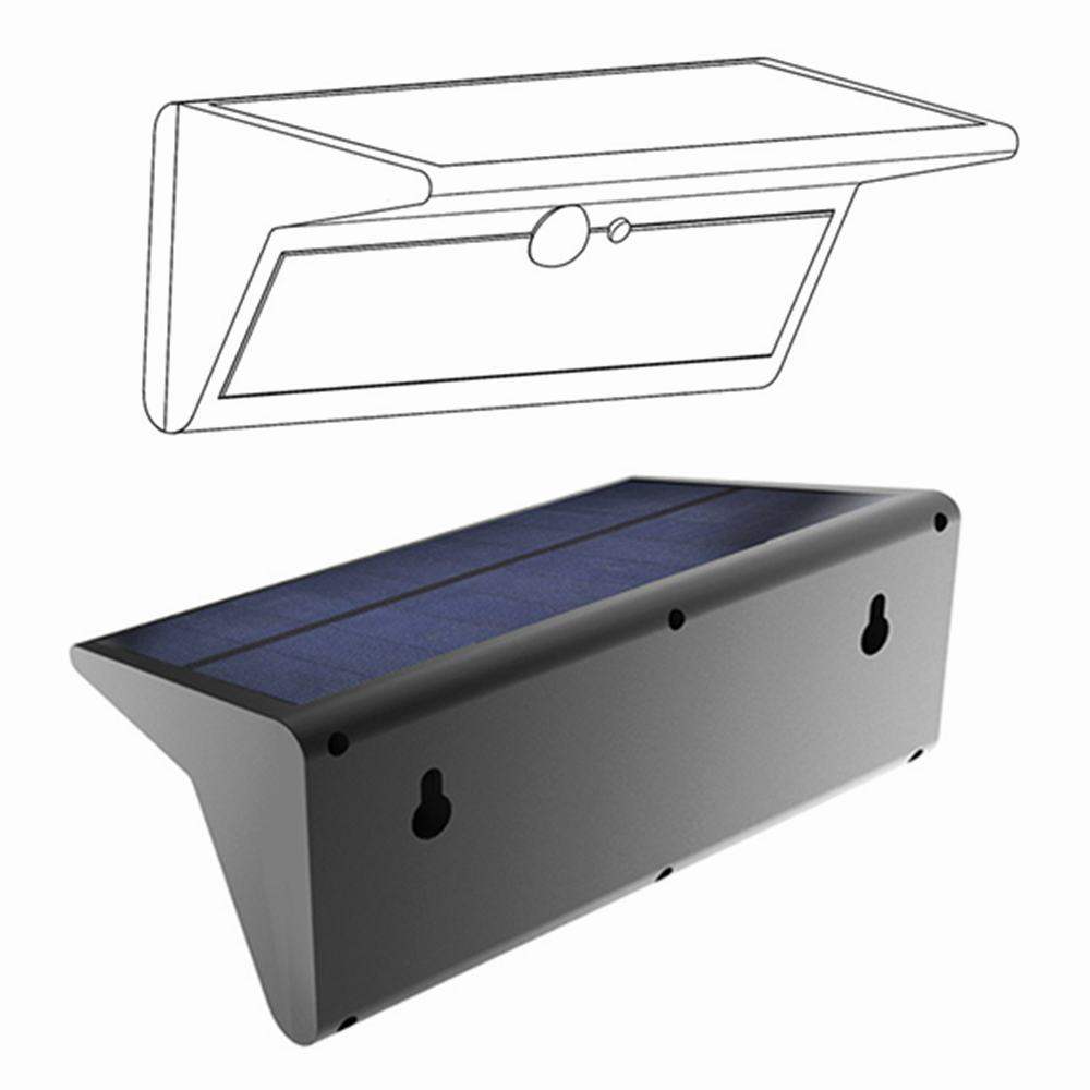 Best Outdoor Mini Wall Mounted Solar Lights From Made in China Thumb 3