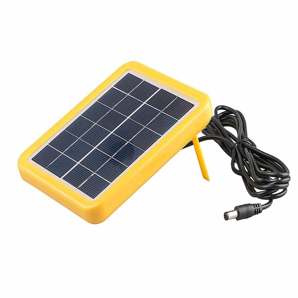 Mini Solar Panel 6v With Plastic Frame For Led Light