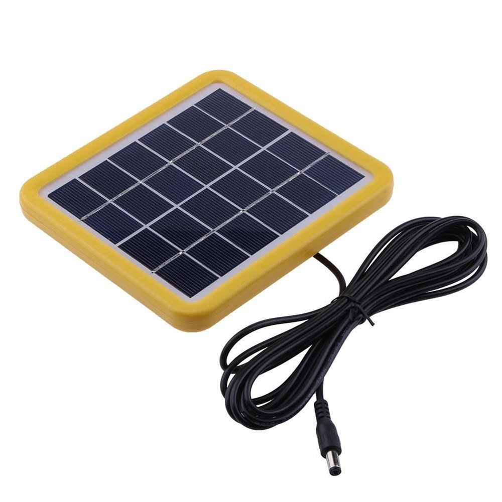 Mini Solar Panel 6V with plastic frame for led light Chinese suppliers Thumb 2