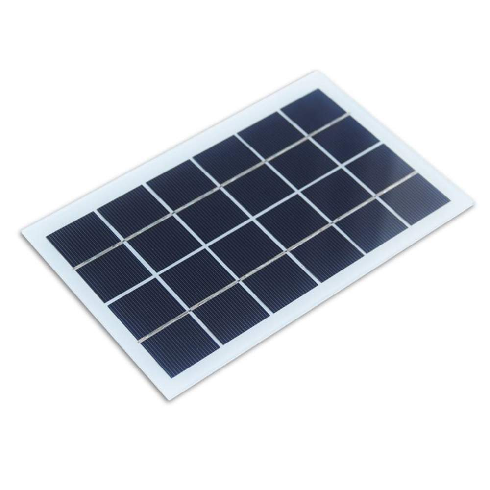 Mini Solar Panel 6V with plastic frame for led light Chinese suppliers Thumb 3