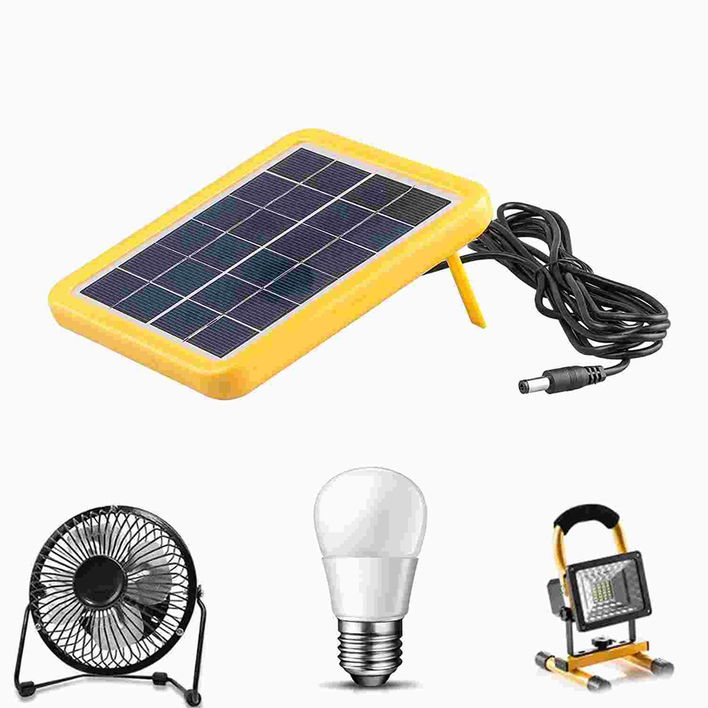 Mini Solar Panel 6V with plastic frame for led light Chinese suppliers Thumb 5