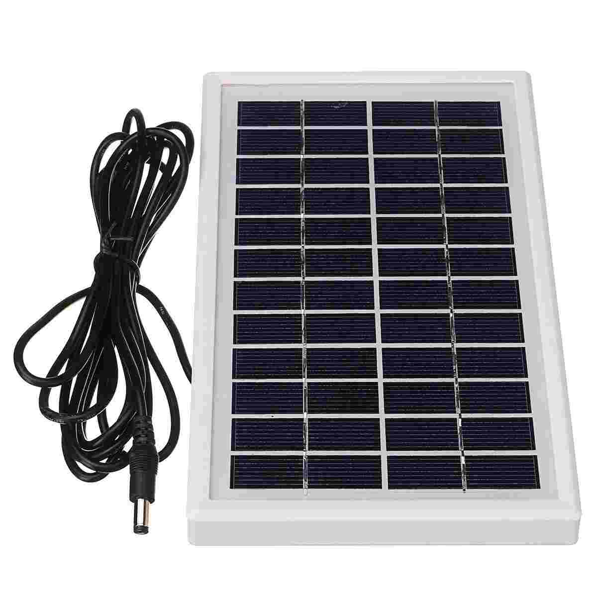 Hinergy Polycrystalline Silicon Mini Solar Panels 12V 3W DIY Powered Kit System Thumb 1