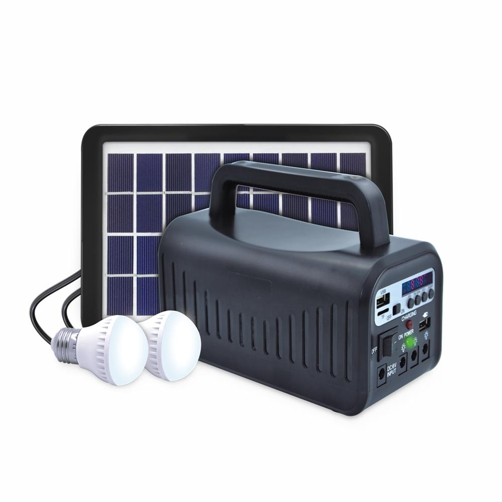 Hinergy portable mini project solar lighting system with FM radio from China manufacturer Thumb 1
