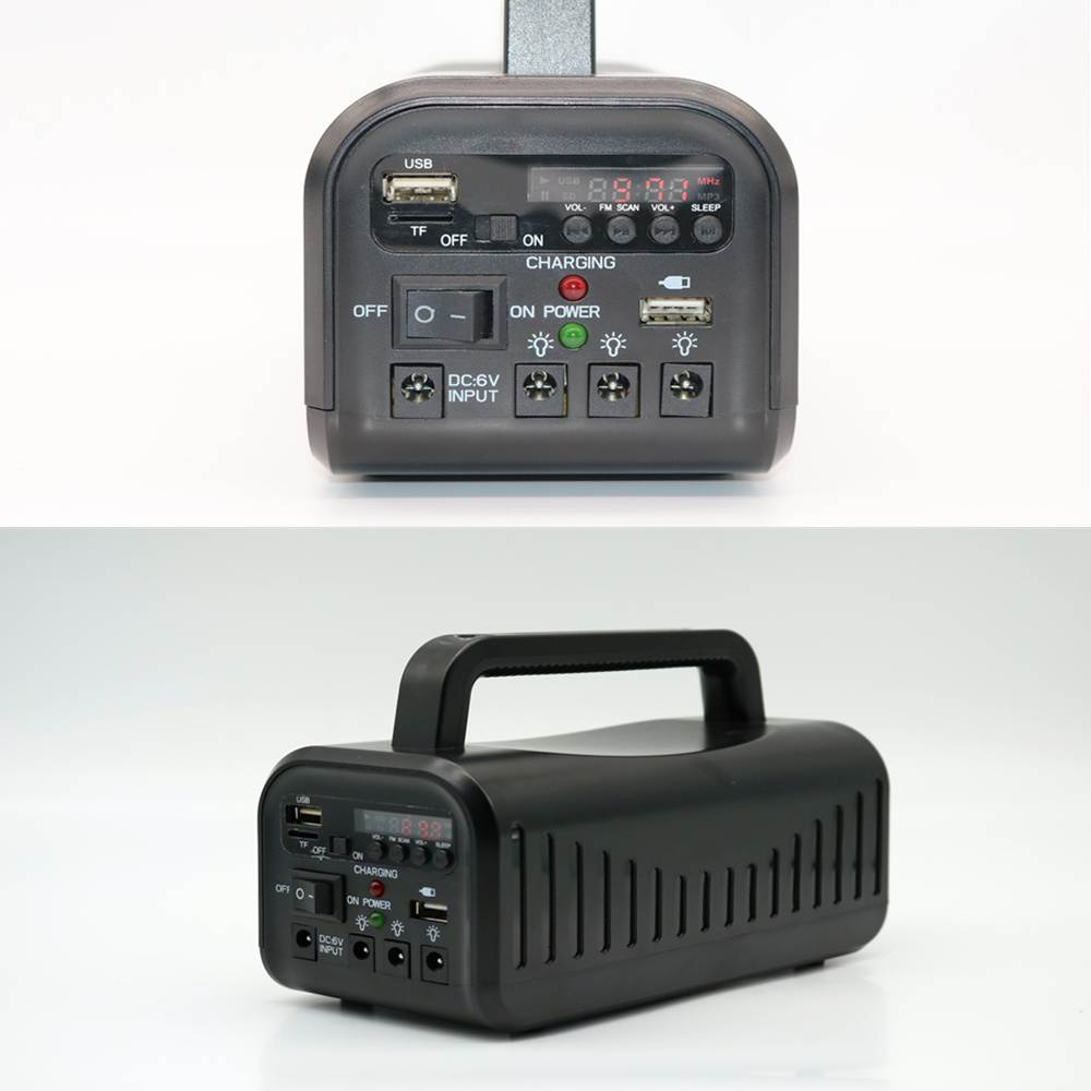 Hinergy portable mini project solar lighting system with FM radio from China manufacturer Thumb 3