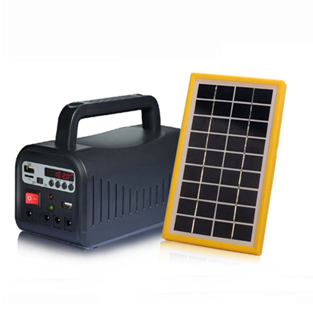 Hinergy portable mini project solar lighting system with FM radio from China manufacturer Thumb 4