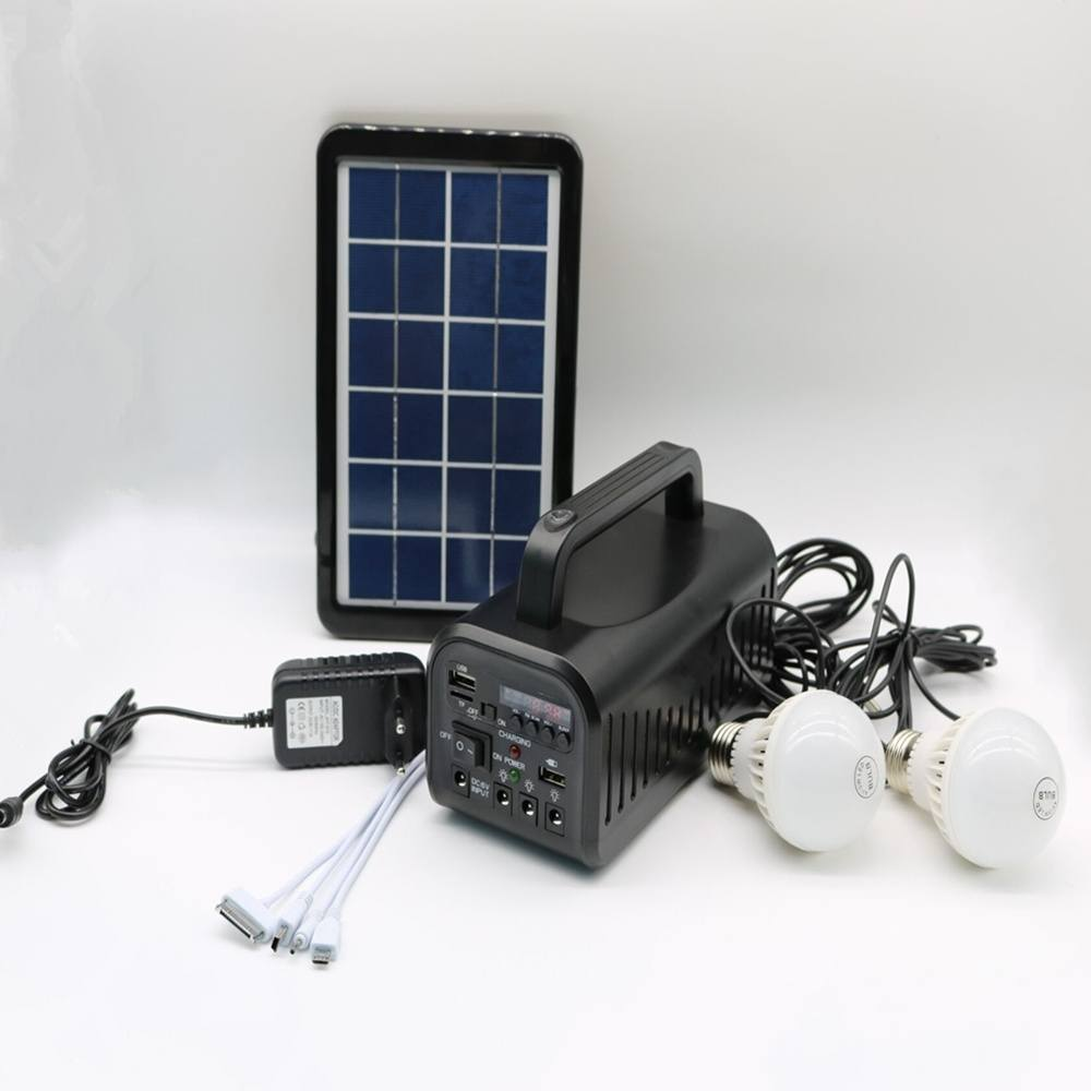 Hinergy portable mini project solar lighting system with FM radio from China manufacturer Thumb 5
