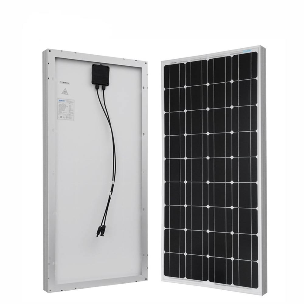 100w Solar Panel for Solar Power System Home from Chinese Factory Thumb 1