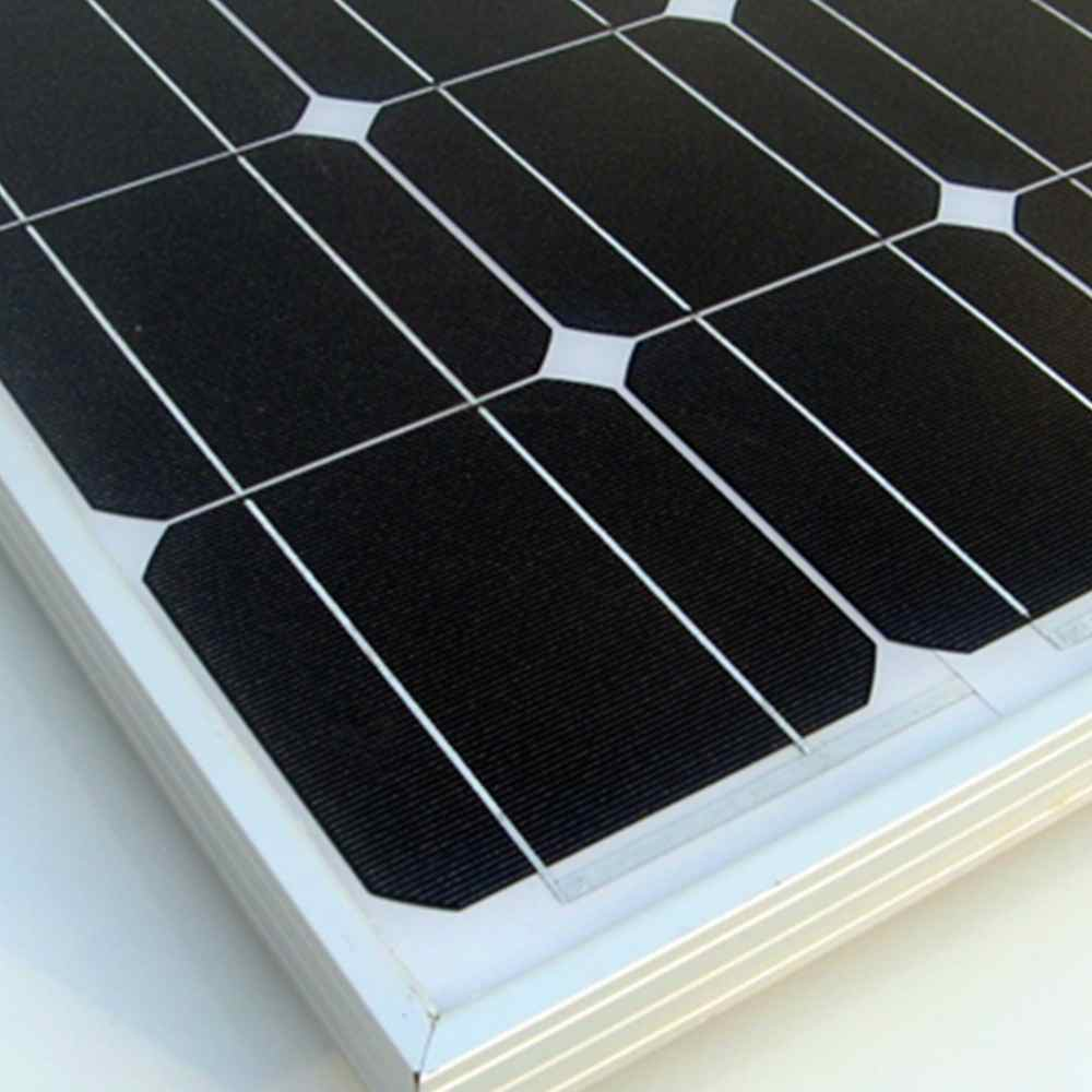 100w Solar Panel for Solar Power System Home from Chinese Factory Thumb 2