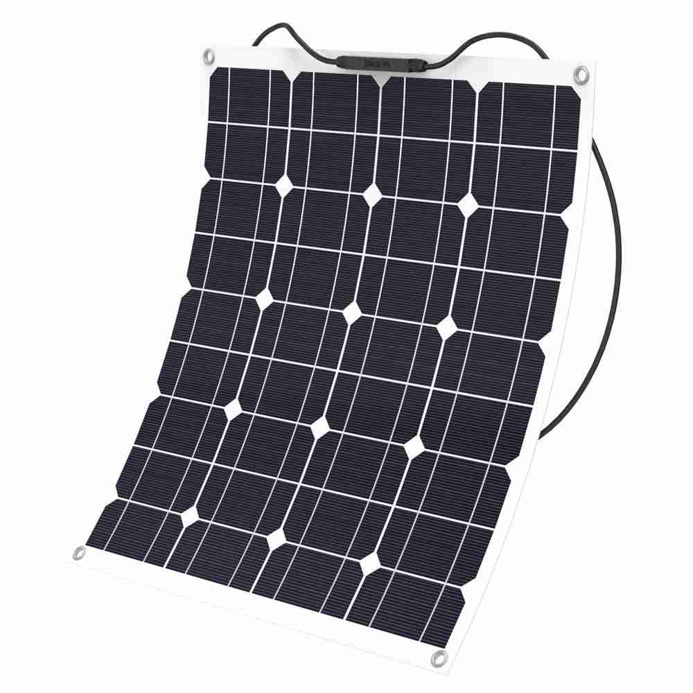 Hinergy Flexible Solar Panel 50w 12v Solar Charger for RV, Boat, Cabin, Tent from China Manufacturer Thumb 1