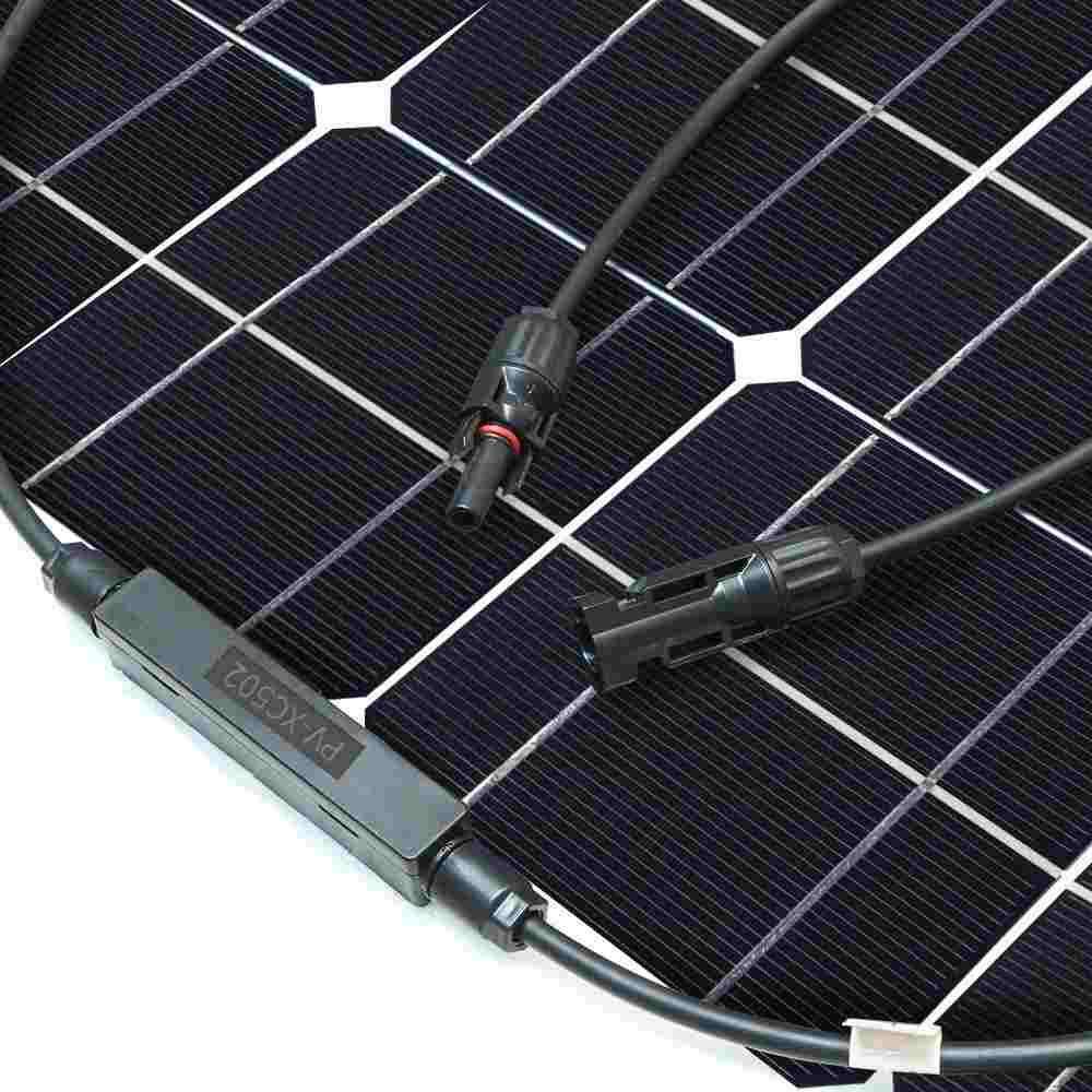 Hinergy Flexible Solar Panel 50w 12v Solar Charger for RV, Boat, Cabin, Tent from China Manufacturer Thumb 4