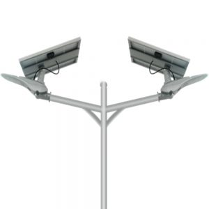 Double Arm Solar LED Street Light