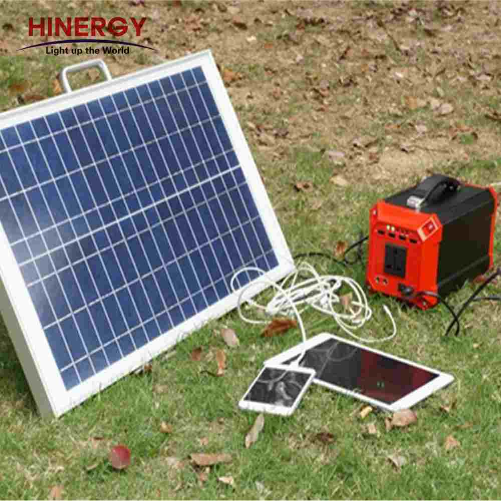 Hinergy mini portable solar generator DC AC 110V 220V 230V 300w solar generator portable solar charger for indoor outdoor use Thumb 5
