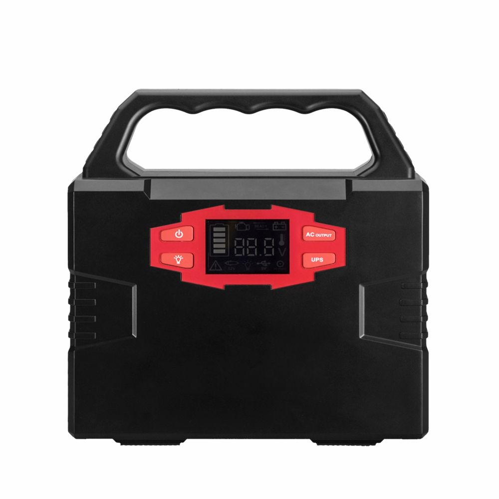 Hinergy mini 100W Portable 12V 110V 220V output Lithium Ion Battery Solar Generator 220v portable power pack for Home Use Thumb 1