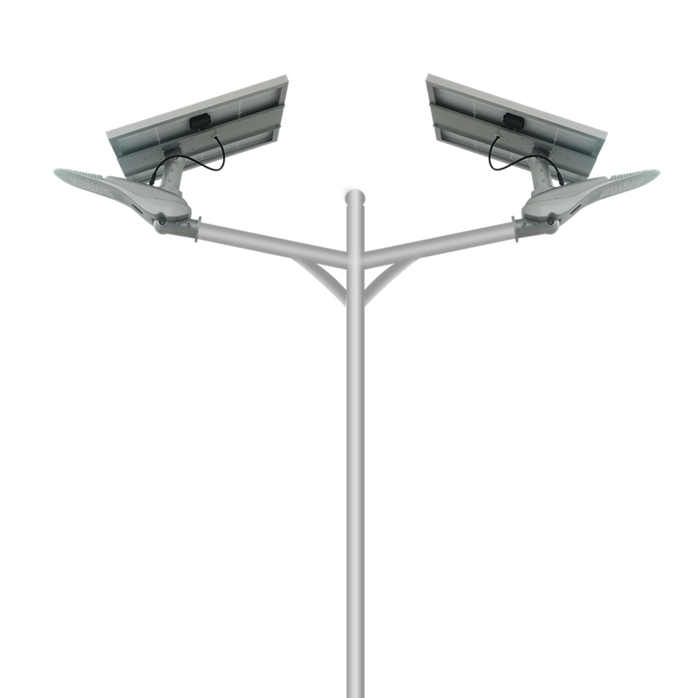 Hinergy Double Arm Solar LED Street Light for Outdoor Lighting from China Manufacturer Thumb 1