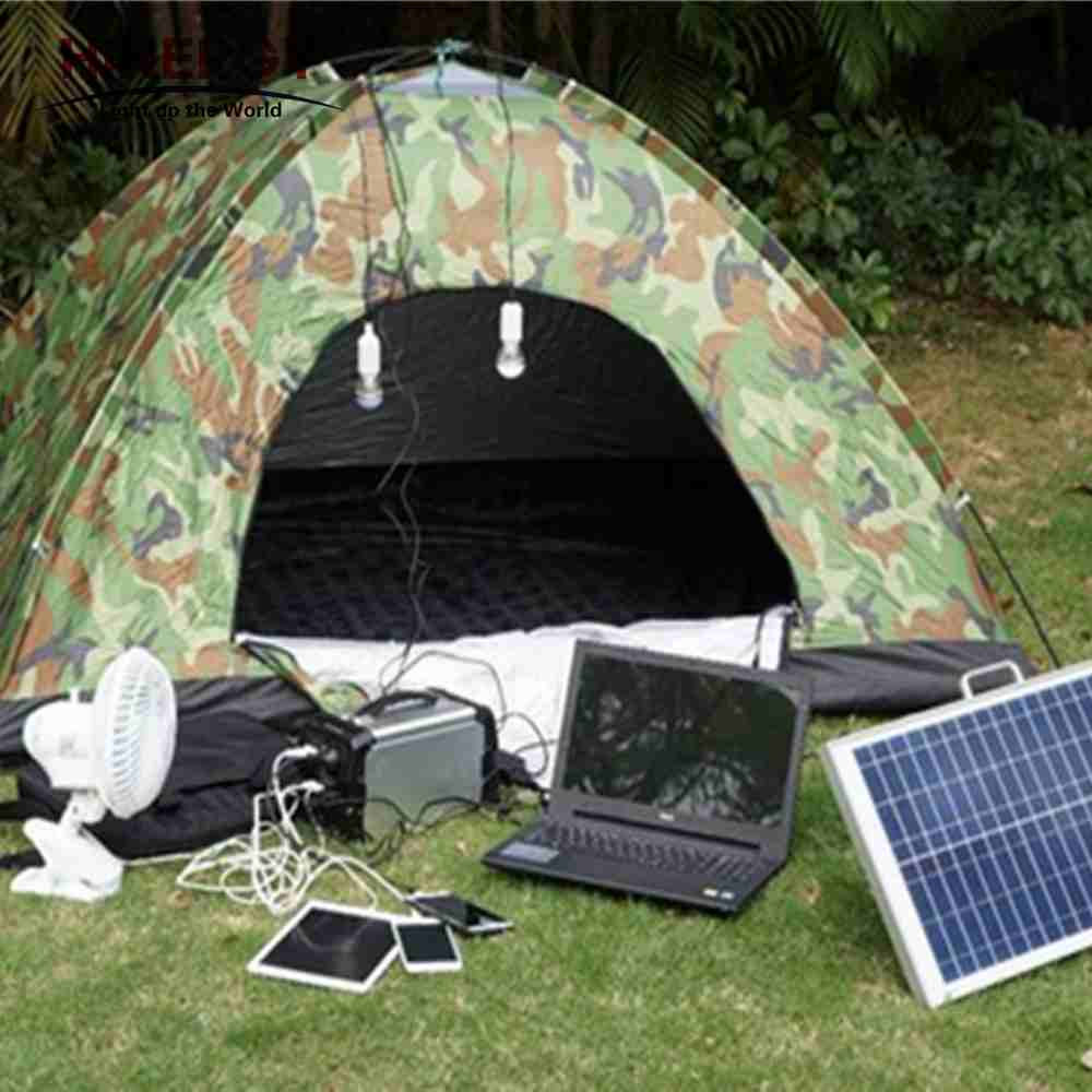 Hinergy AC DC output portable solar power generator portable solar power pack with lithium battery power pack for outdoor and home use Thumb 5