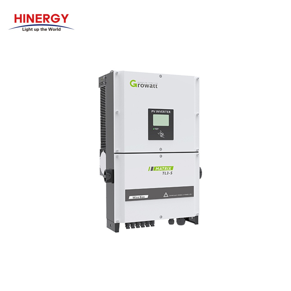 30KW Grid Tie Solar Inverter 30KVA for Solar Power System-Hinergy Thumb 1